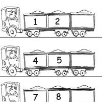 Printable Truck Theme What's Next - Free Printable Math Worksheets - Free Printable Worksheets
