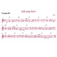 Trumpet - Auld Lang Syne