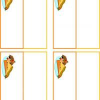 Turkey Pie Place Cards