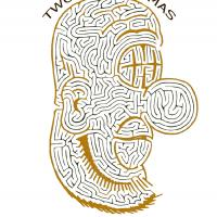 Printable Two Face Thomas - Printable Mazes - Free Printable Games