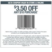 Ulta Coupon $3.50 Off