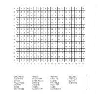 US Capitols Word Search