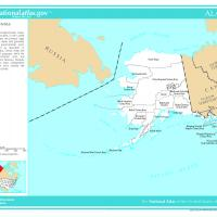 US Map- Alaska Counties