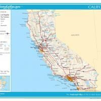 US Map- California General Reference