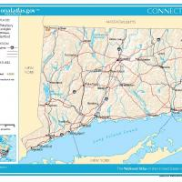 US Map- Hartford General Reference