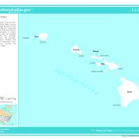 Printable US Map- Hawaii Counties - Printable Maps - Misc Printables