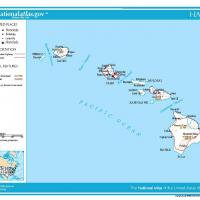 US Map- Hawaii General Reference