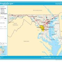 Printable US Map- Maryland General Reference - Printable Maps - Misc Printables