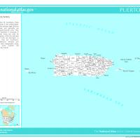Printable US Map- Puerto Counties - Printable Maps - Misc Printables