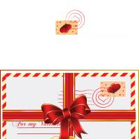 Valentine Ribbon Card