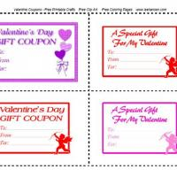 Valentine's Gift Coupons
