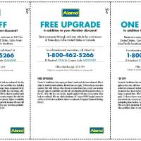 Alamo Various Coupons