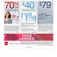 JC Penny Various Coupons