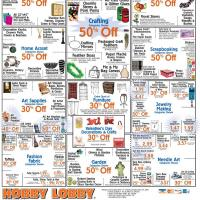 Hobby Lobby Various Home Accent Coupons