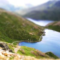 Printable View From Snowdon - Printable Nature Pictures - Free Printable Pictures