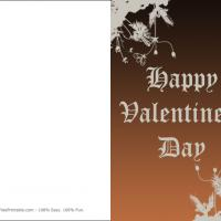 Printable Vintage Laced Design Card - Printable Valentines - Free Printable Cards