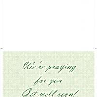 We Are Praying For You Card