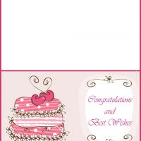 Printable Wedding Greeting Card - Printable Greeting Cards - Free Printable Cards