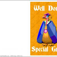 Printable Well Done Graduate - Printable Graduation Cards - Free Printable Cards