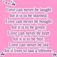 What Love Can Never Be