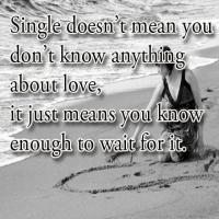 What Single Means Motivational Quotes