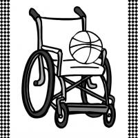 Printable Wheelchair Flash Card - Printable Flash Cards - Free Printable Lessons