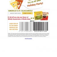 Printable Wholly Save $1 on Any Guacamole or Salsa Dip - Printable Discount Coupons - Free Printable Coupons