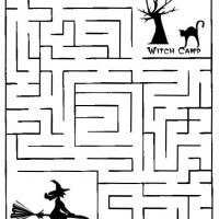 Witch Camp Maze