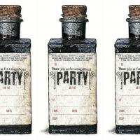 Wizard Potion Bottle Party Invitation