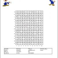 Printable Wizard Theme Word Search - Printable Word Search - Free Printable Games