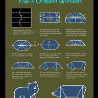 Wombat Origami
