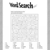 Printable wordsearch - Printable Word Search - Free Printable Games