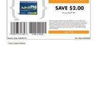 Wyeth Save $2 on Any Advil PM