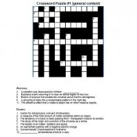 X-Ray Observatory Crossword