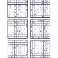 X Sudoku Puzzle