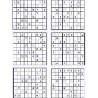 X Sudoku Puzzle