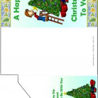 Printable Xmas Tree Money Card - Printable Christmas Cards - Free Printable Cards