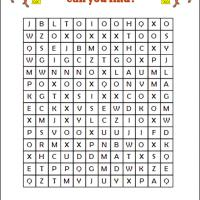 Year Of The Ox Word Search