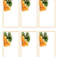 Yellow Roses Gift Cards