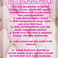 Printable Yummy Marshmallow Recipe - Printable Recipes - Free Printable Activities