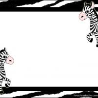 Printable Zebra Label - Printable Labels - Misc Printables