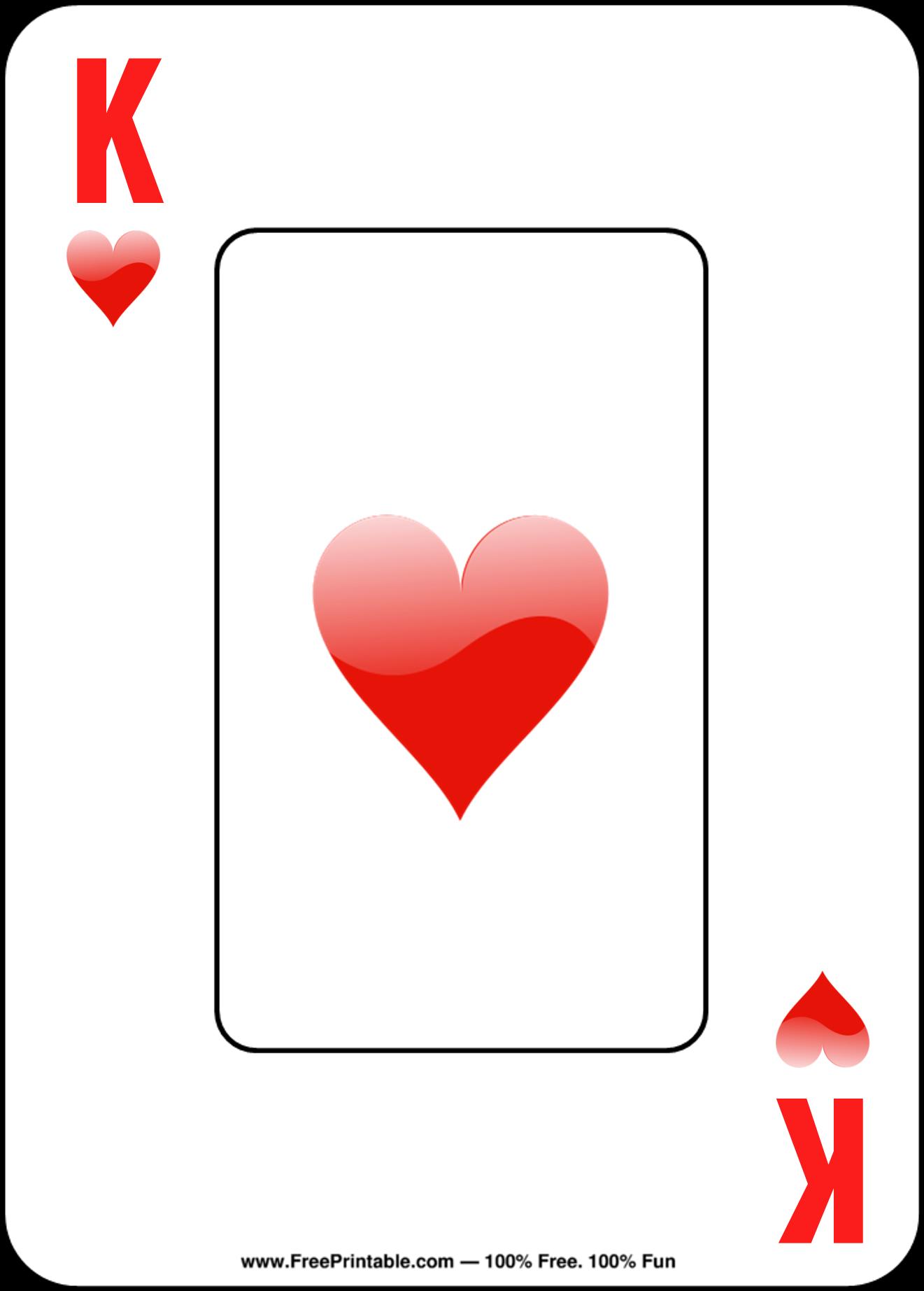 Free Printable Playing Cards