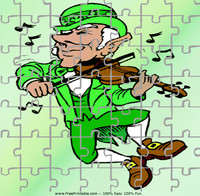 Leprechaun Fiddle Puzzle