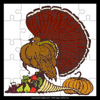 Turkey Harvest Puzzle