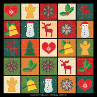 Christmas Quilt Puzzle