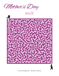 Mother's Day Maze Hard