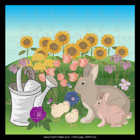 Easter Rabbits Puzzle