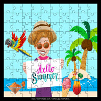 Tropical Summer Puzzle