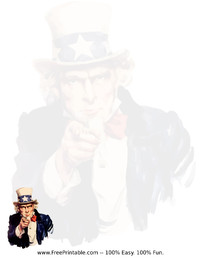 Uncle Sam Stationery