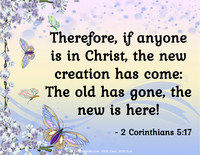 Easter Quotation 2 Corinthians 5:17